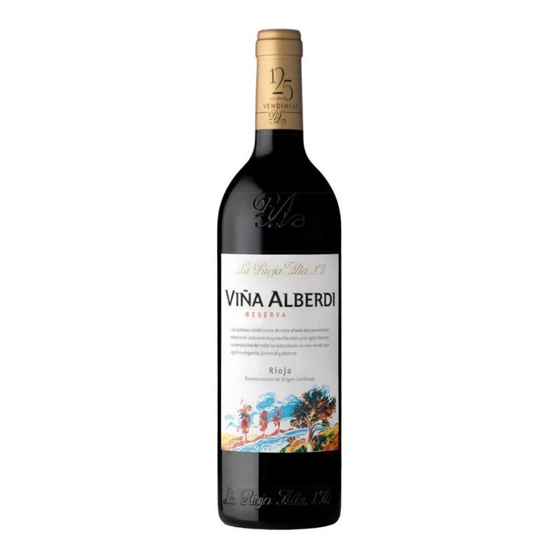 La Rioja Alta Viña Alberdi Rioja Reserva Tasting of ripe red fruit, currants and liquorice, rounded off with sweet notes of vanilla-spice. The wine is particularly well-balanced, with a smooth palate, medium body and very well integrated tannins.