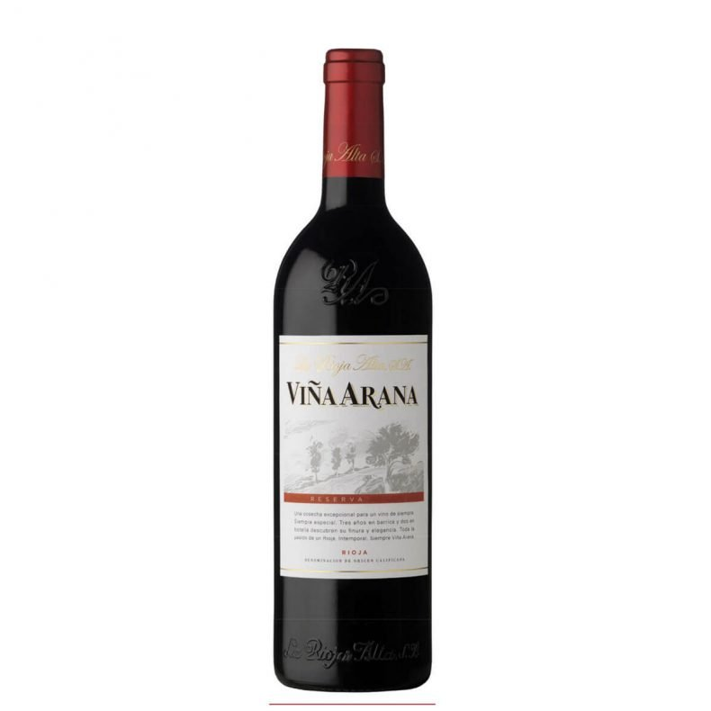 La Rioja Alta Vina Arana This benchmark Rioja Reserva is made in the traditonal style, aged for three years in American oak, it has has an incredibly smooth palate with flavours of ripe dark berry fruit, vanilla and mocha.