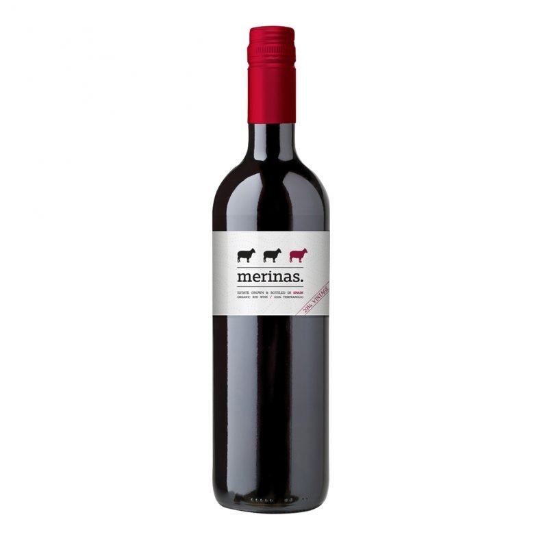 Merinas Tempranillo This juicy-fruited Organic Tempranillo from central Spain tastes of ripe red berries with herbal undertones of rosemary and liquorice on a palate with supple tannins and a long finish.