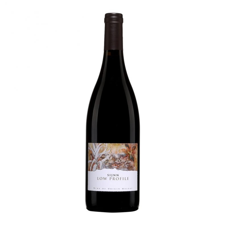 "Sijnn Low Profile ""Incredibly perfumed and floral, with red and black fruits, along with subtle elements of spice. The juicy body, streaked by veins of minerality yields a well-structured wine."""